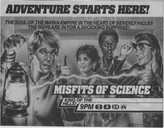 The Dork Review: Forgotten TV Heroes: Misfits of Science