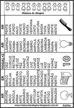 fichas-de-leitura-alfabetizacao-imprimir-colorir-ar-er-az-am-an.JPG (464×677)