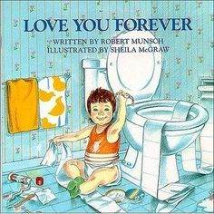 An extraordinarily different story by Robert Munsch is a gentle affirmation of the love a parent feels for their child--forever. Sheila M...