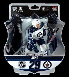 "Nikolaj Ehlers Winnipeg Jets Argent 2.5/"" série 2 NHL Imports Dragon Toy Loose"