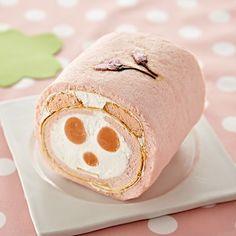 Panda roll cake.