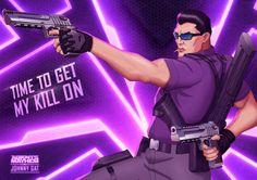 Agents of Mayhem to Feature Saints Row's Johnny Gat as Pre-order Bonus - IGN Seoul, Saints Row 4, Agents Of Mayhem, Danielle Victoria, Video Game News, Video Games, My Pool, Hollywood, Art