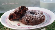 biscotti morbidi ricotta e cacao foto