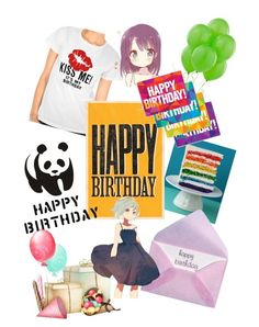 """""""HAPPY B-DAY! ...To me..."""" by smarties-mu ❤ liked on Polyvore featuring notNeutral"""