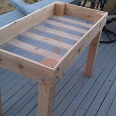 DIY Raised Bed Planter