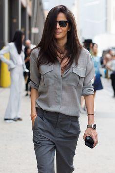 On the Scene…At Ralph Lauren, New York. utilitarian grays
