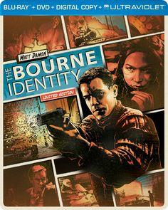 The Bourne Identity (Steelbook) (Blu-ray + DVD + DIGITAL with UltraViolet)