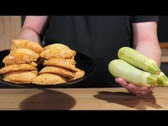 Αλμυρά Κολοκυθοπιτάκια με Γιαουρτένια Ζύμη Κουρού!!Quick mini pies Zucchini & Feta Cheese - Cook! - YouTube Yummy Food, Yummy Recipes, Pie Dish, Hot Dog Buns, Pickles, Cucumber, Food And Drink, Favorite Recipes, Snacks