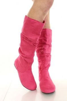AMIClubwear premier ecommerce site for women's clubwear, party dresses, sexy shoes and bikinis at amazing prices. Hot Pink Shoes, Pink Boots, Shoes Heels Boots, Heeled Boots, Cool Boots, Beautiful Shoes, Fashion Boots, Ugg Boots, Me Too Shoes