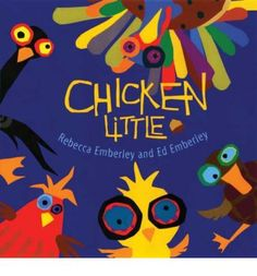 Caldecott Medalist Ed Emberley and his daughter Rebecca put a new twist on a classic tale and make the sky fall in an entirely new way, as crazy-eyed Chicken and all his panicked friends run away from the sky--and right into an eye-catching gatefold surprise. Full color.
