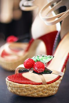 shoes with cherries <3