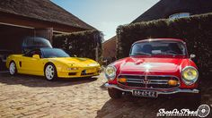 Car pornography — Starring: Honda S800 and NSX by Dennis van de...