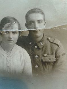 Private Fred Robinson 6906, later Corporal 200252, 4th Royal Welsh Fusiliers. From Stansty, Rhosddu, Wrexham.