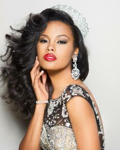 Tiana Griggs, Miss Georgia (USA) 2014. Second runner up in the Miss USA pageant.
