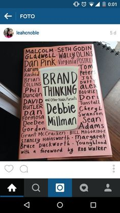 Debbie millman brand pinterest debbie millman brand thinking and other noble pursuits debbie millman fandeluxe Image collections