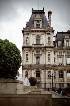 Architecture in Le Marais, Paris