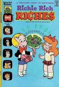 richie rich - comic book covers - Google Search