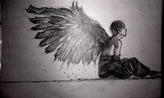 my bts tae wings fanart