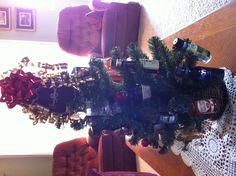 21st Birthday tree! Decorate it with mini liquor bottles! My boyfriend loved it!
