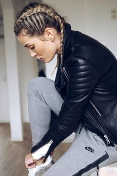 Step Up Your Workout Hair Game With This Look