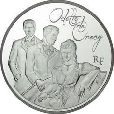 10 Euro Silber Odette de Crécy PP