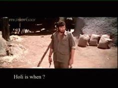 Holi Kab Hai, Kab Hai Holi - Gabbar, Sholay