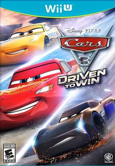 Cars 3: Driven to Win Game Cover Wii U