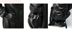 コート メンズ 冬 羊本革 ラムレザー スーパーロング 中綿入り ダブルトレンチコート レザーコート K0B :k0b:FLAG ON CREW - 通販 - Yahoo!ショッピング