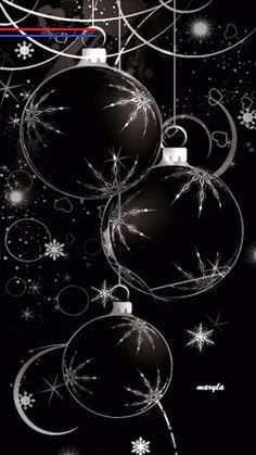 sketches creepy - #froheweihnachtengif Black Christmas, Christmas Balls, Christmas Art, Winter Christmas, Vintage Christmas, Christmas Decorations, Christmas Ornaments, Beautiful Christmas, Christmas Scenes