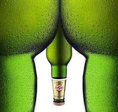 Advertising Gone Bad? Funny beer ad