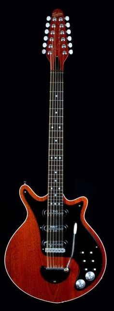 Guyton Guitars Brian May Red Special 12str Doubleneck Prototype
