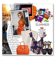 """Show off Your Summer ""It Bag"": Contest Entry"" by themisssantiago ❤ liked on Polyvore"