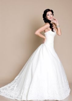 38 40 One Shoulder Wedding Dress, Wedding Dresses, Fashion, Pink, Kid Shoes, Monochrome, Nice Asses, Bride Dresses, Moda