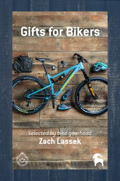"""If you're shopping for the bikers in your life, check out these hand selected gift ideas by Bike Gearhead Zach Lassek - """"I traded the sands of California for the peaks of Colorado, where I picked up mountain biking and never looked back. Bike gear is my obsession, and I've put plenty of it to the test.""""     Shop bikes, shoes, gloves, sunglasses, helmets, jerseys and more."""