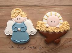 "81 Likes, 4 Comments - The Vintage Cookie Jar (@thevintagecookiejar) on Instagram: ""I love this cutter set from @sweetsugarbelle! #nativitycookies #christmascookies #royalicing…"""