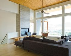 Okanagan Danchuk Residence - modern - Living Room - Vancouver - Sunterra Custom Homes