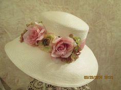 Women's High Quality Derby Hat Kentucky by IsabellasHatsandBows
