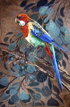 Eastern Rosella Parakeet by *HouseofChabrier on deviantART