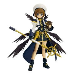 "Magical Girl Lyrical Nanoha The MOVIE 2nd A's ""Hayate Yagami The MOVIE 2nd A's ver."" : figma http://www.hyperionz.net/collections/figma/products/magical-girl-lyrical-nanoha-the-movie-2nd-as-hayate-yagami-the-movie-2nd-as-ver-figma"