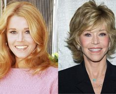 Jane Fonda: Then and Now  The 75-year-old actress was a true fitness fanatic in her youth and it shows! The actress is fitter than many women half her age!