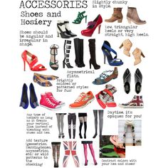 """""""Flamboyant Gamine (FG) Accessories - Shoes and Hosiery"""" by lightspring on Polyvore"""