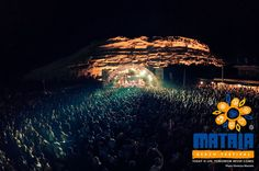A real feel good hippy vibe will be on the agenda at the Matala Beach Festival (19-21 June 2015) Paz.  www.justaplatform.com/beaches-in-greece-matala (Image Matala Beach Festival 2015 Facebook page)