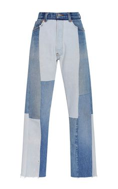 Re/done - Patchwork Jeans