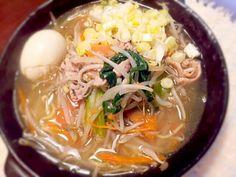 具沢山だから麺が半分でも満腹♪ - 11件のもぐもぐ - ☆野菜たっぷりタンメン by rietantan