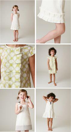 Adorable girls' dresses