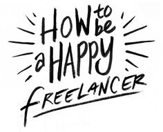 Veronica Fish Illustration: How to be a Happy Freelancer: Part 1