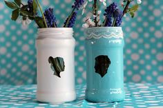 Transform Old Jam Jars Into Stunning Silhouette Vases – Tuts+ Tutorials #silhouettecraft #craft