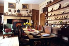 English dining room of Sir Albert Richardson ~ architect and historian