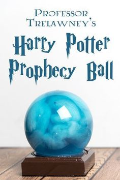 """A quick and easy craft project inspired by Professor Trelawney's prophecy, from ., DIY and Crafts, A quick and easy craft project inspired by Professor Trelawney's prophecy, from """"Harry Potter and the Order of the Phoenix"""" Deco Noel Harry Potter, Harry Potter Fiesta, Classe Harry Potter, Harry Potter Thema, Cumpleaños Harry Potter, Harry Potter Classroom, Harry Potter Bedroom, Harry Potter Wedding, Harry Potter Birthday"""