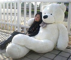 Where to get a giant teddy bear? Visit our store online and find the most cutest and the most huggable big giant teddy bear. Shop now and get great deals.  www.GiantTeddyBearstore.com